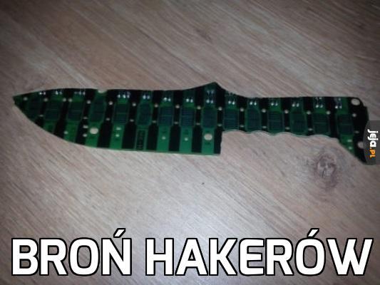 Broń hakerów