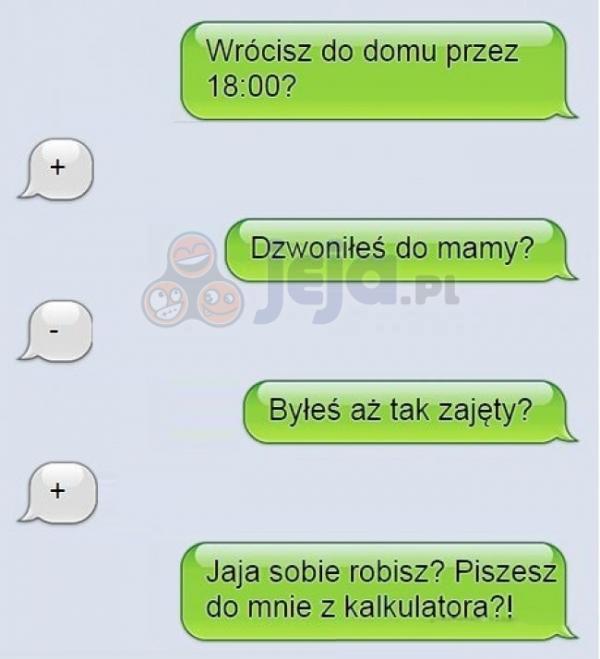 Dziwna wymiana SMSów