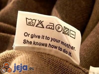 Najlepiej daj mamie, ona będzie wiedziała co zrobić