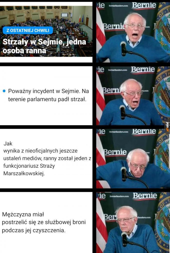 Serwisy informacyjne i Straż Marszałkowska na podobnym poziomie