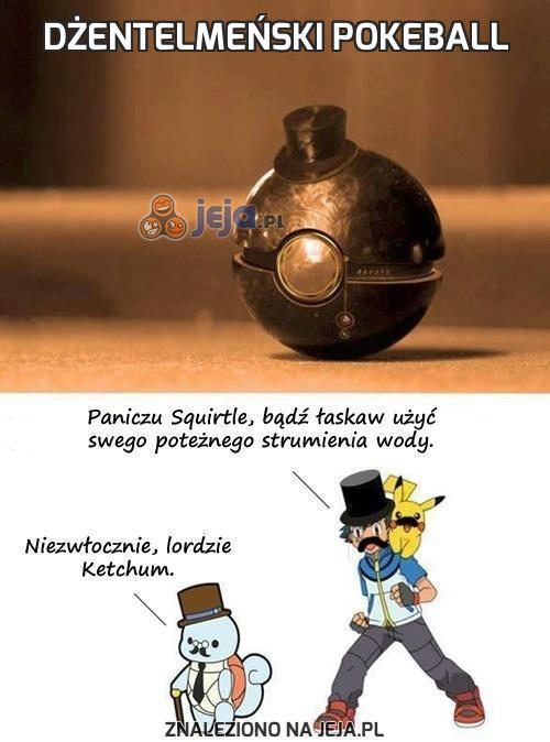Dżentelmeński Pokeball