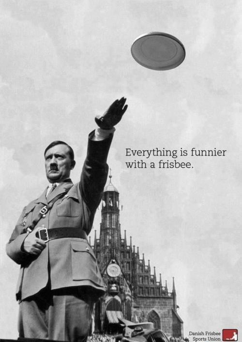 Wszystko jest zabawniejsze z frisbee