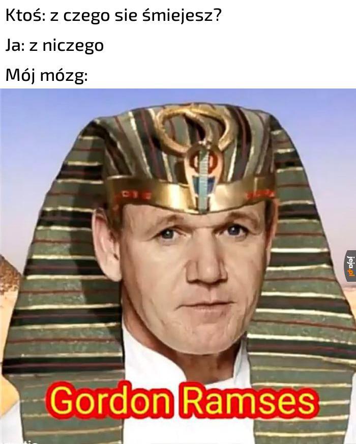 Najpopularniejszy z faraonów