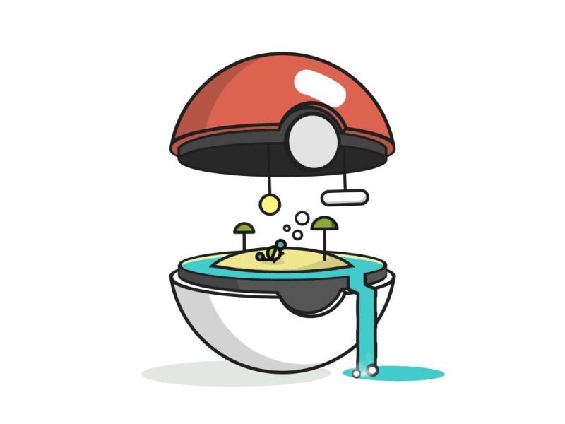 Wodny Pokeball