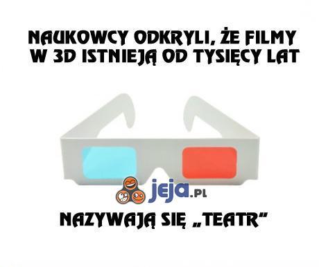 Najbardziej realistyczne filmy 3D