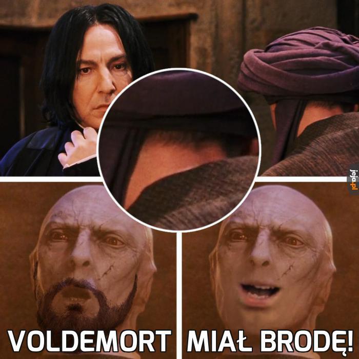 Brodaty Voldemort