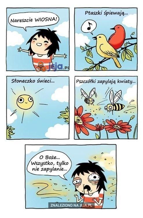 Pozdrowienia dla alergików!