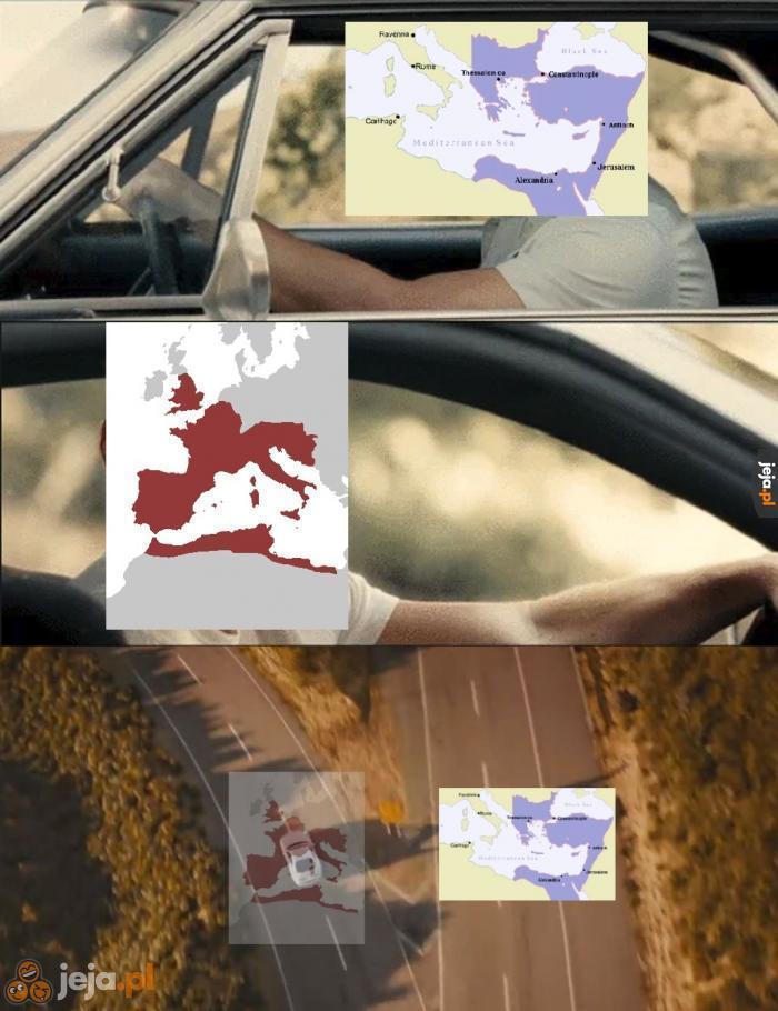 Rozpad Cesarstwa Rzymskiego