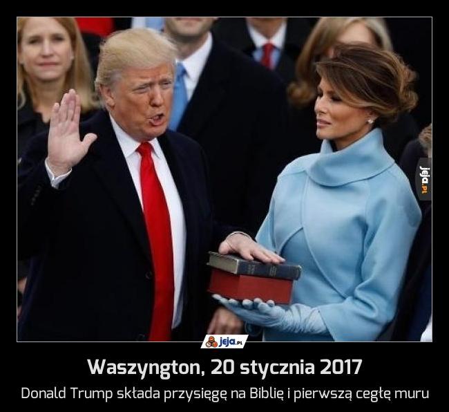 Waszyngton, 20 stycznia 2017