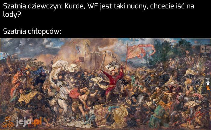 Potwierdzam, za każdym razem odgrywamy Bitwę pod Grunwaldem