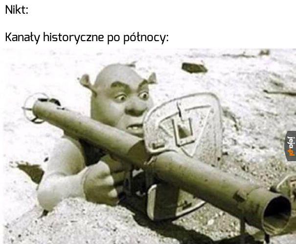 Shrek pancerny