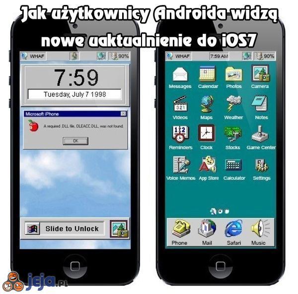 Uaktualnienie do iOS7