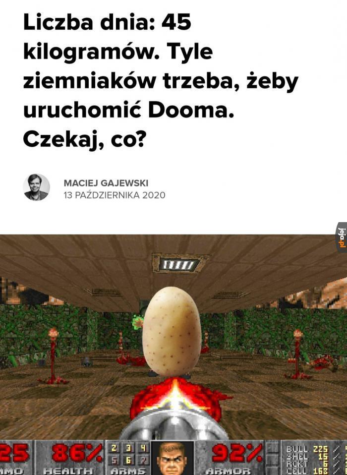 Ziemniaki w końcu przeliczone na moc obliczeniową