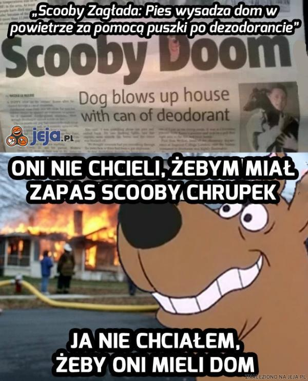 Scooby-pożar