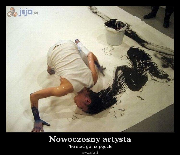 Nowoczesny artysta