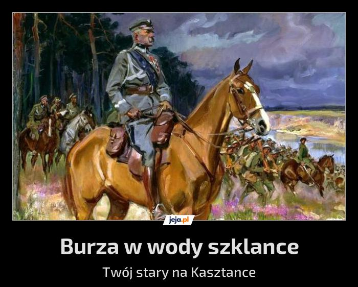 - Panie Marszałku, wzywaliście? - Tak, pułkowniku, mam dla was bojowe zadanie...
