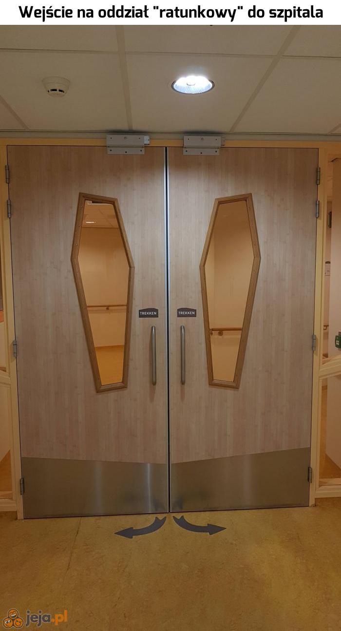 Świetne drzwi