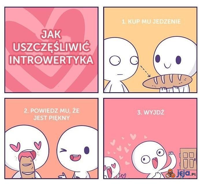 Jak uszczęśliwić introwertyka