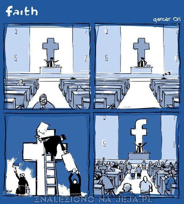 Wiara się zmienia