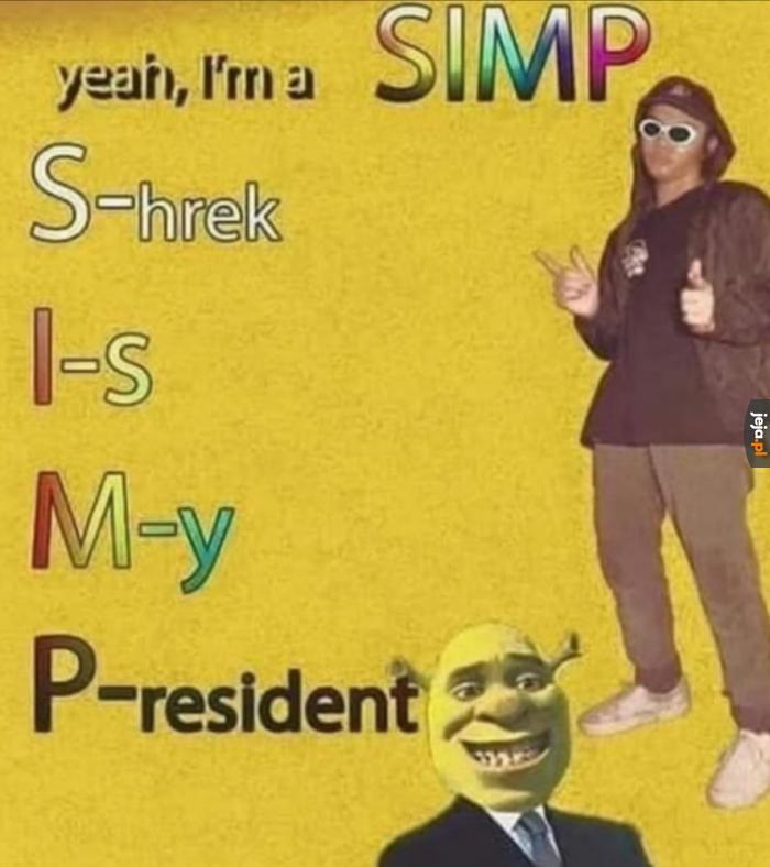 Shrek mój prezydent 2024