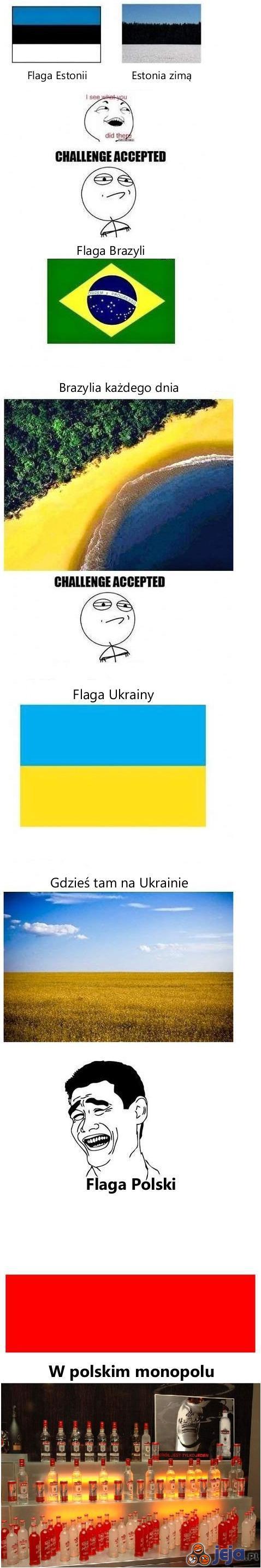 Flagi i kraje