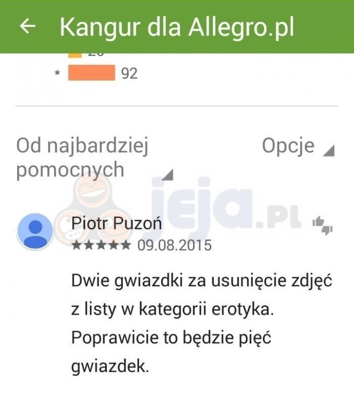 """Z cyklu """"Perełki Google Play"""""""