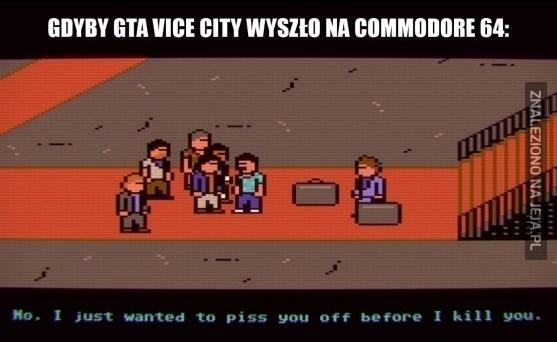 Vice City na Commodore 64?