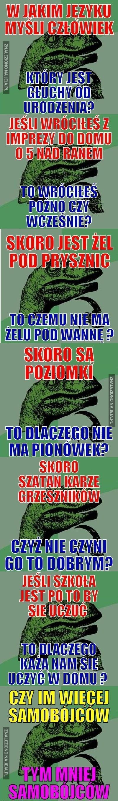 Pytania dinozaura