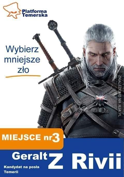 Geralt zaprowadzi porządek