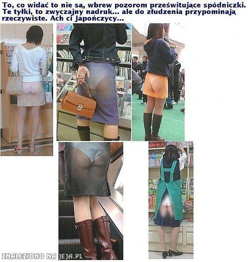 Japońskie spódniczki