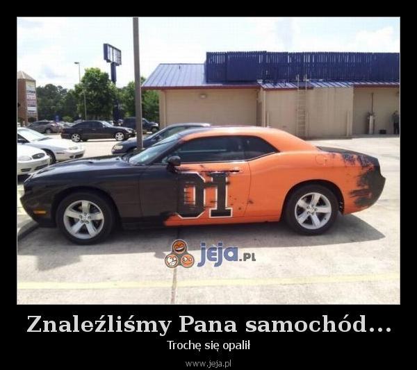 Znaleźliśmy Pana samochód...