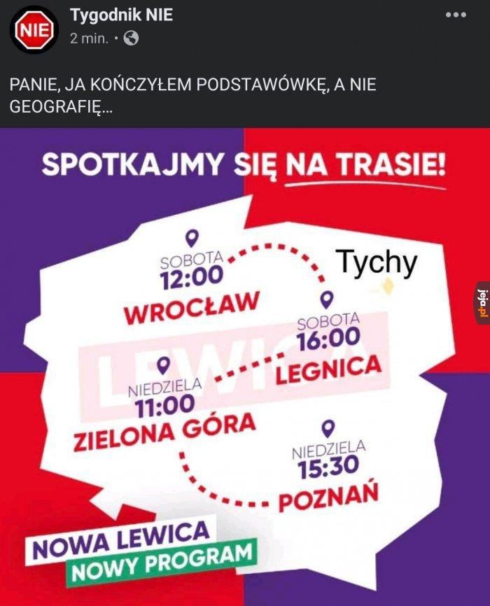 Nowa geografia polski