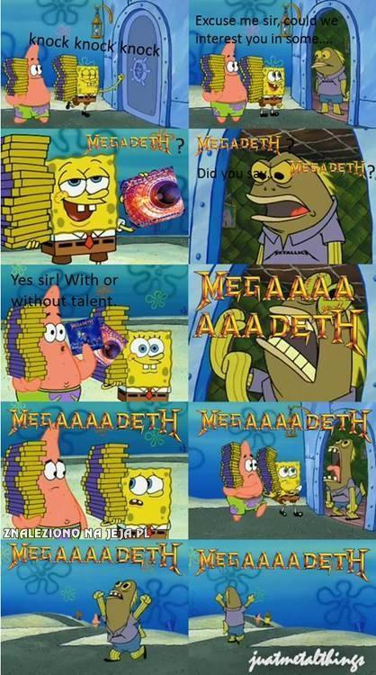 Megadeth!