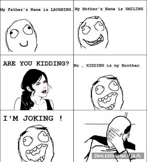 Rodzina żartowinisiów