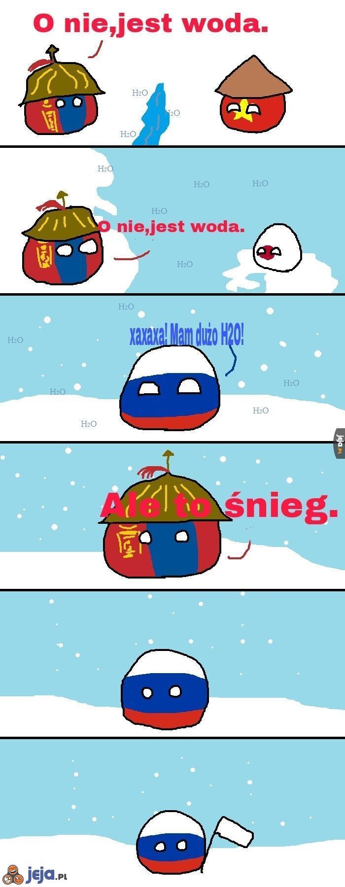 Mongolia i problem z wodą