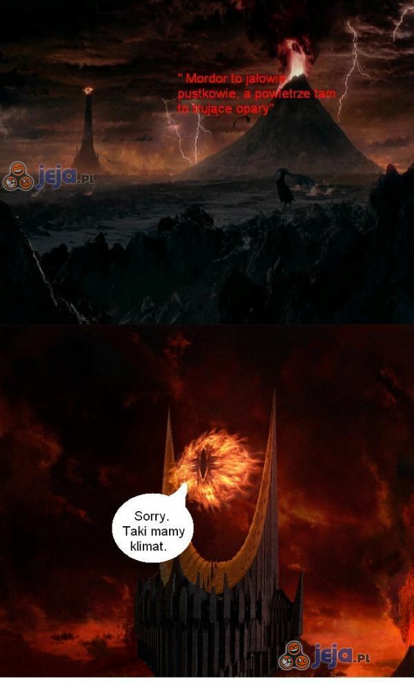 Sauron się tłumaczy