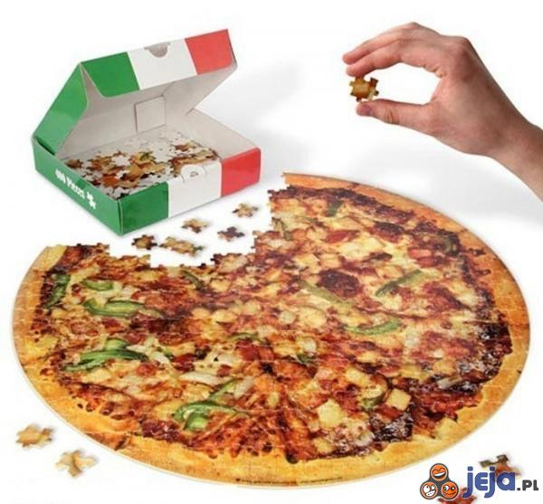 Puzzlowa Pizza