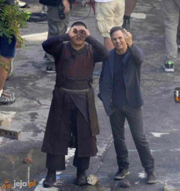 Najlepsze zdjęcie z planu Avengers