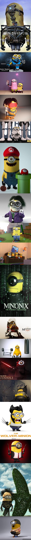Minionki opanowują internety