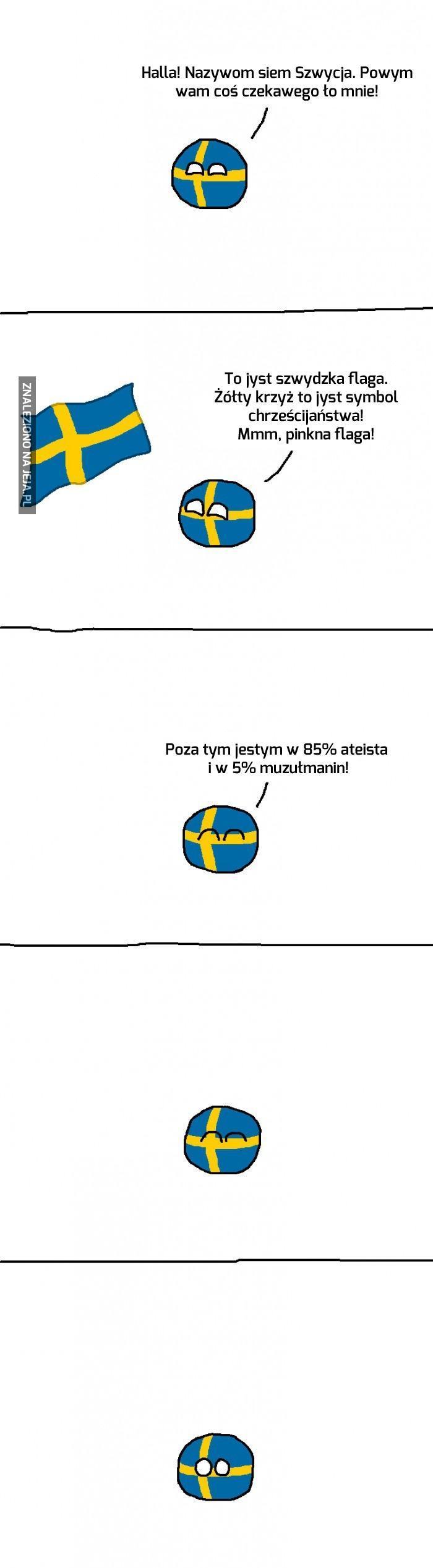 Szwedzka flaga