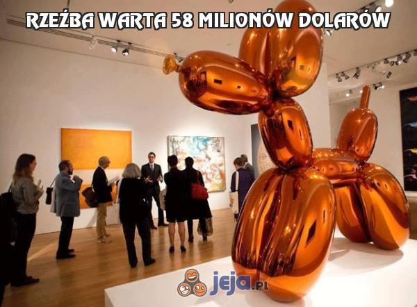 Rzeźba warta 58 milionów dolarów