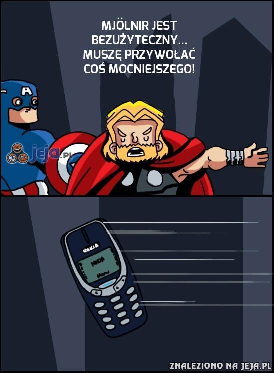 Teraz nikt nie ma szans z Thorem!