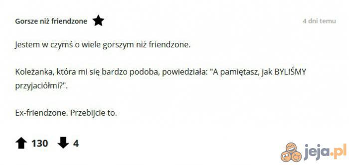 Wyższy level friendzone