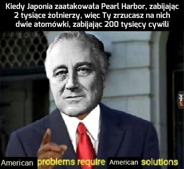 Jak Ameryka sobie radzi z problemami