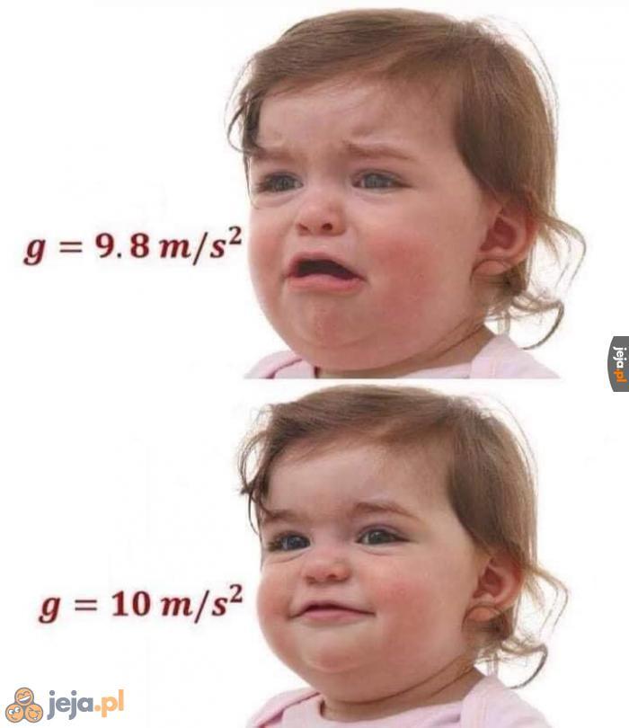 Ja na sprawdzianie z fizyki