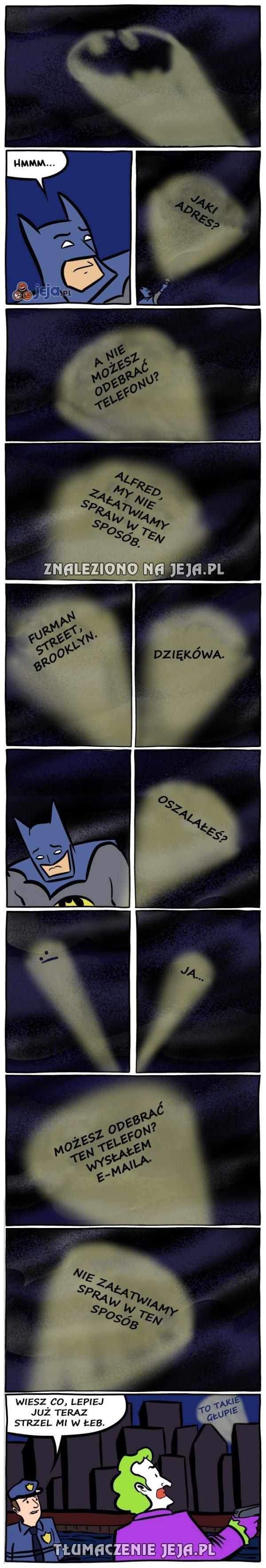 Tymczasem w Gotham...