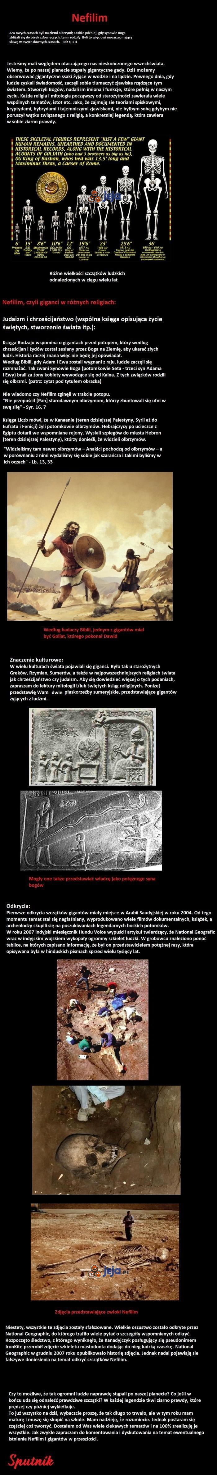 Nefilim - legendarni giganci