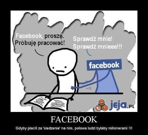 Facebook to natrętne uzaleznienie