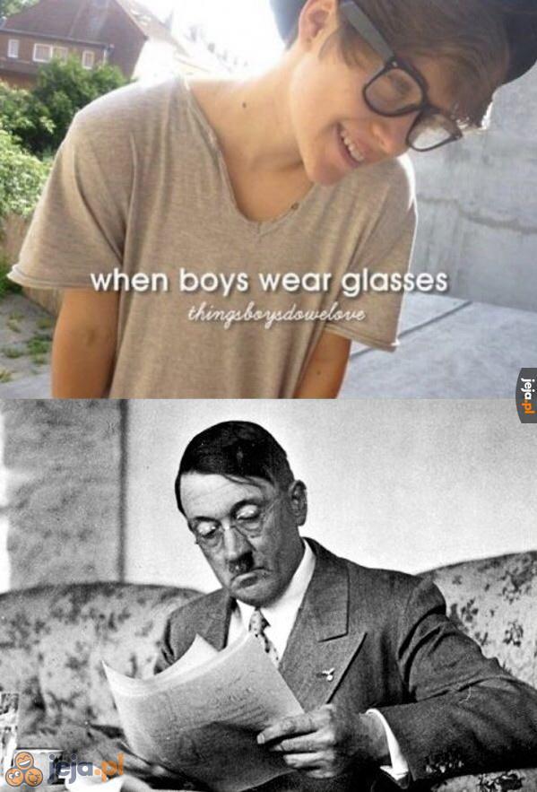 Chłopcy w okularach