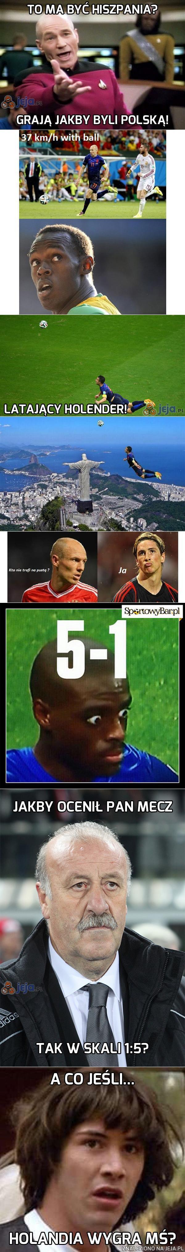 Podsumowanie meczu Hiszpania - Holandia